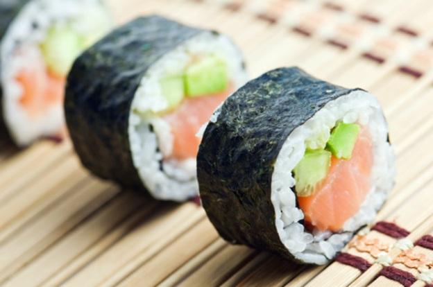 sushi ngon và lạ miệng