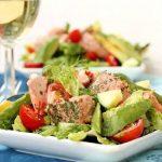 Salad cá hồi - món ngon bổ dưỡng, giảm cân hiệu quả