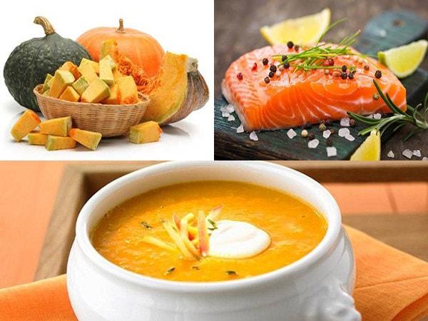 nguyên liệu làm súp cá