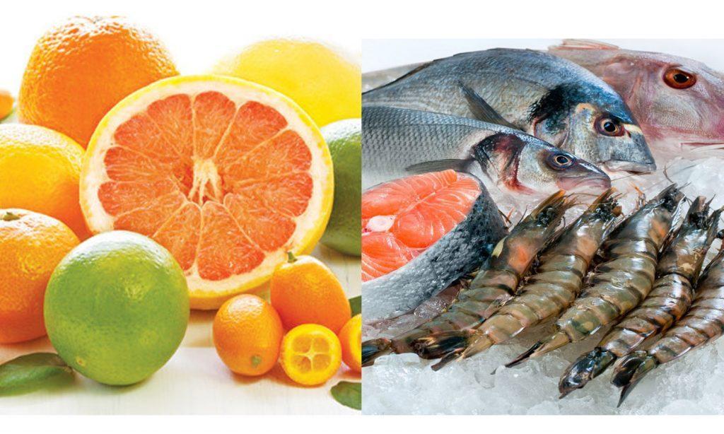 tráng miệng gì sau khi ăn hải sản